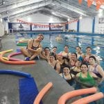 #Nado: Aquagym para ganar vida