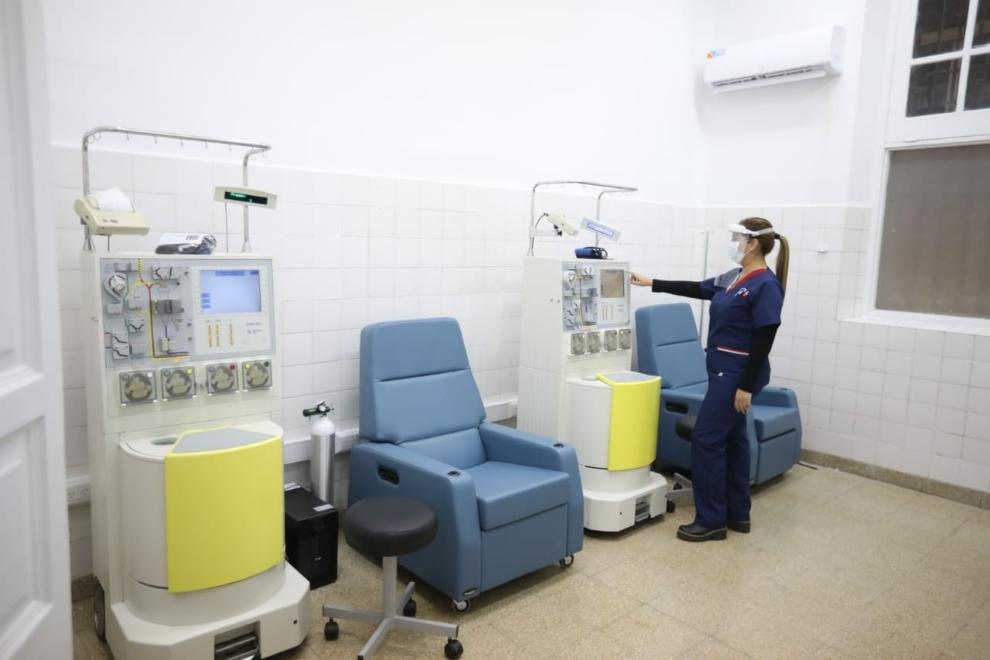 Primera extracción de plasma de personas recuperadas de Covid-19